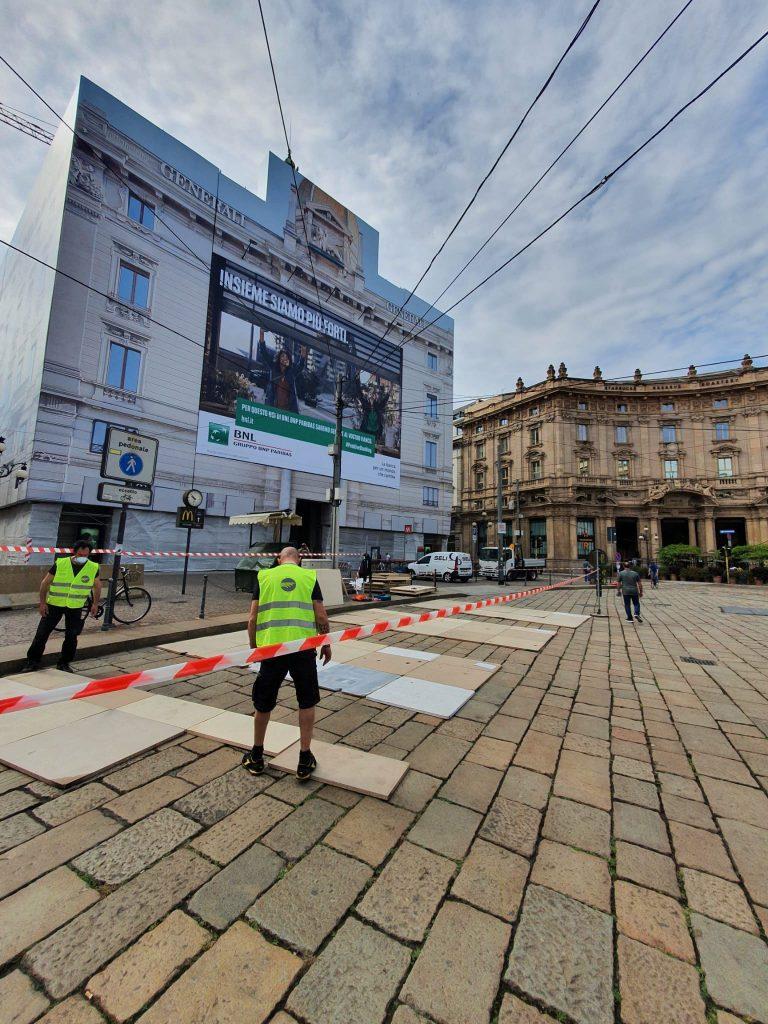 Allestimento green Eurostands Milano Monza Motor Show