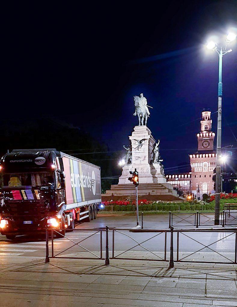 Allestimento green Eurostands Milano Monza Motor Show_3